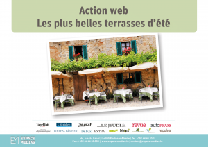 Publicité web terrasse